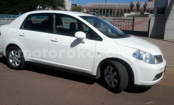 Buy Used Nissan Tiida White Car in Gaborone in Gaborone