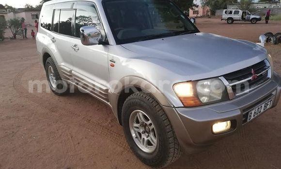 Buy Used Mitsubishi Pajero Silver Car in Gaborone in Gaborone