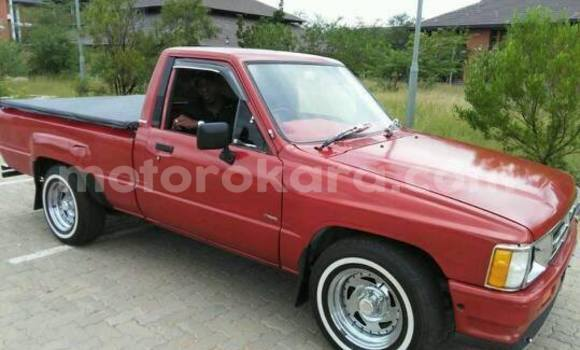 Buy Used Toyota Hilux Red Car in Broadhurst in Gaborone