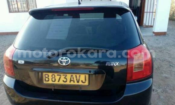 Buy Used Toyota Runx Black Car in Broadhurst in Gaborone