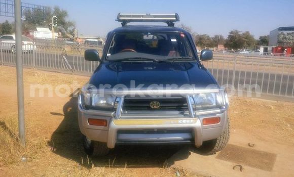 Buy Used Toyota Hilux Surf Black Car in Broadhurst in Gaborone