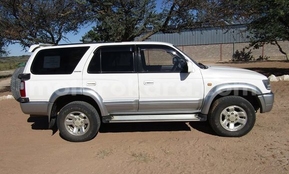 Buy Used Toyota Hilux Surf White Car in Broadhurst in Gaborone