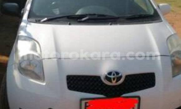 Buy Used Toyota Yaris White Car in Broadhurst in Gaborone