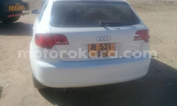 Buy Used Audi A3 White Car in Broadhurst in Gaborone