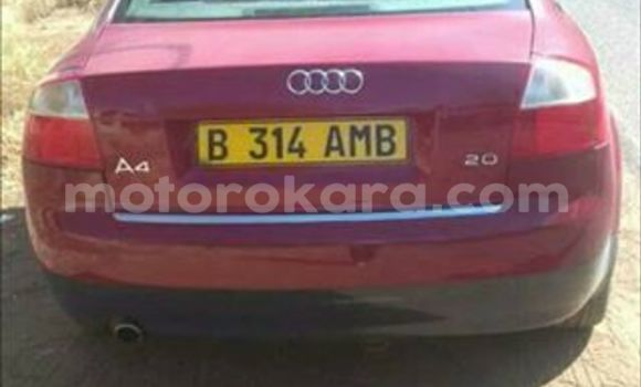 Buy Used Audi A4 Red Car in Broadhurst in Gaborone