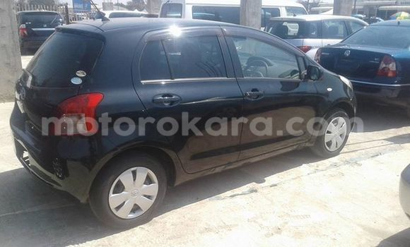 Buy Used Toyota Vitz Black Car in Broadhurst in Gaborone
