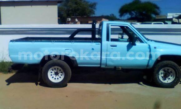 Buy Used Toyota Hilux Blue Car in Gaborone in Gaborone