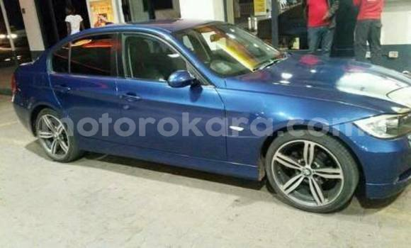 Buy Used BMW 3-Series Blue Car in Broadhurst in Gaborone