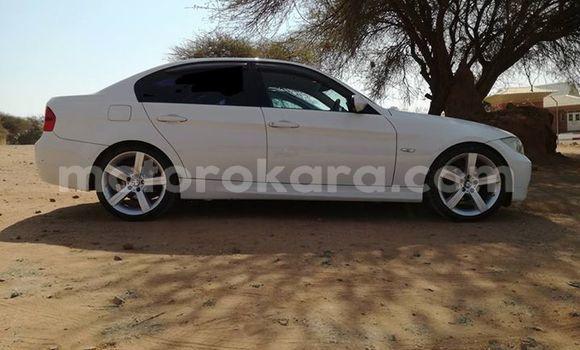 Buy Used BMW 3-Series White Car in Broadhurst in Gaborone