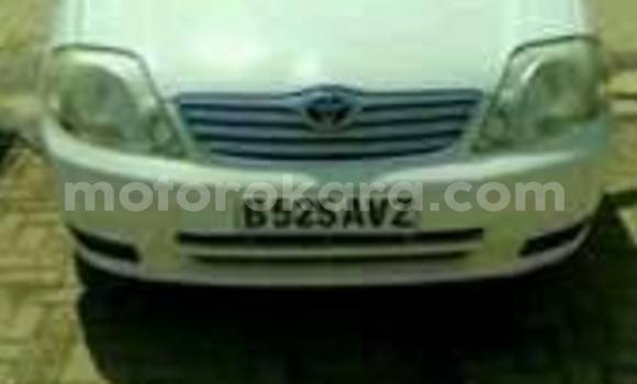 Buy Used Toyota Corolla White Car in Broadhurst in Gaborone