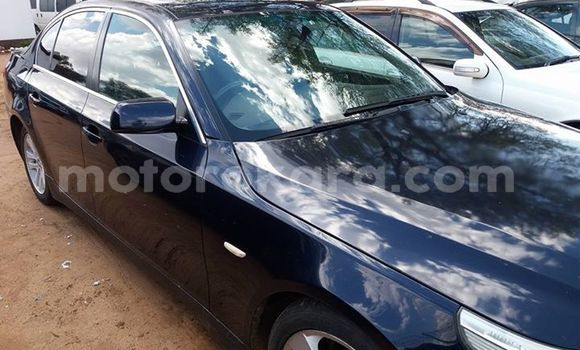 Buy Used BMW 5–Series Black Car in Broadhurst in Gaborone