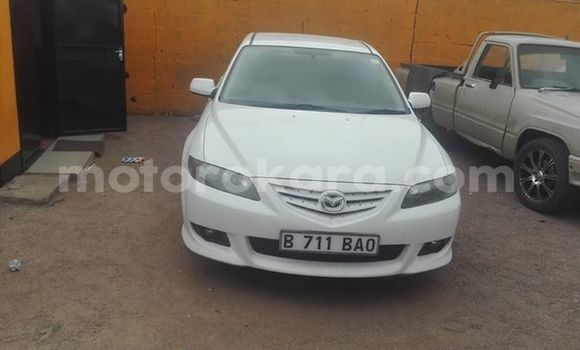 Buy Used Mazda 6 White Car in Broadhurst in Gaborone