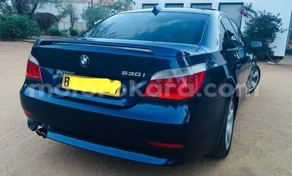 Buy Used BMW 5-Series Black Car in Broadhurst in Gaborone