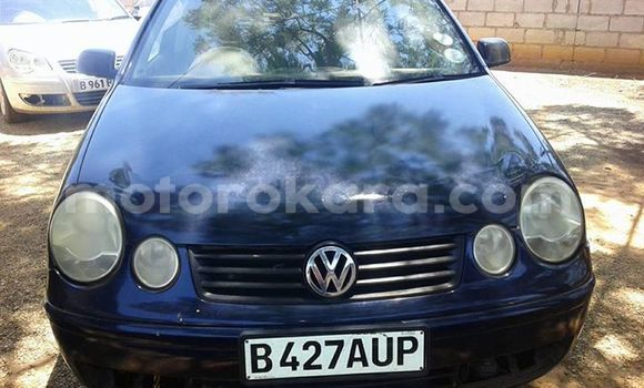 Buy Used Volkswagen Polo Blue Car in Broadhurst in Gaborone