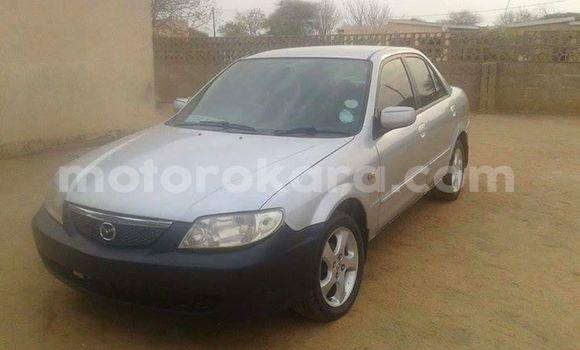 Buy Used Mazda 323 Silver Car in Kanye in Southern