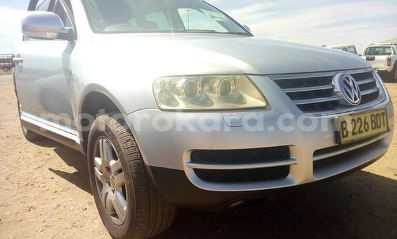 Buy Used Volkswagen Touareg Silver Car in Francistown in North-East