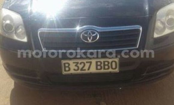 Buy Used Toyota Avensis Black Car in Francistown in North-East