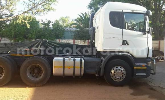 Buy Used Scania R420 White Truck in Francistown in North-East