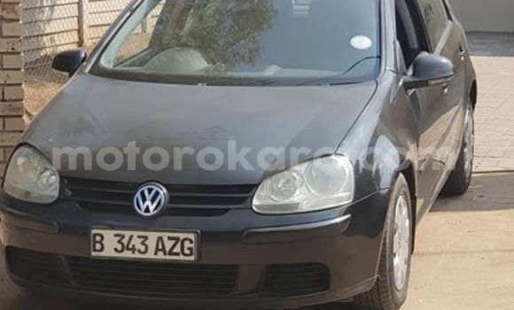 Buy Used Volkswagen Golf Black Car in Gabane in Kweneng