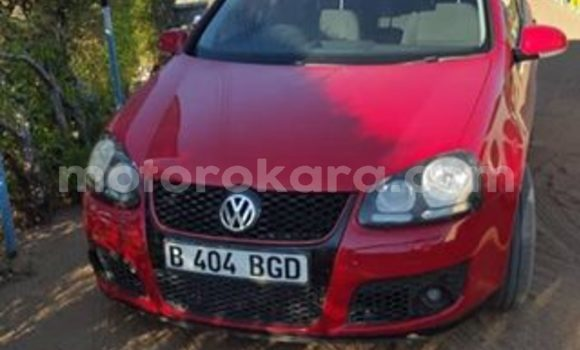 Buy Used Volkswagen Golf Red Car in Gaborone in Gaborone