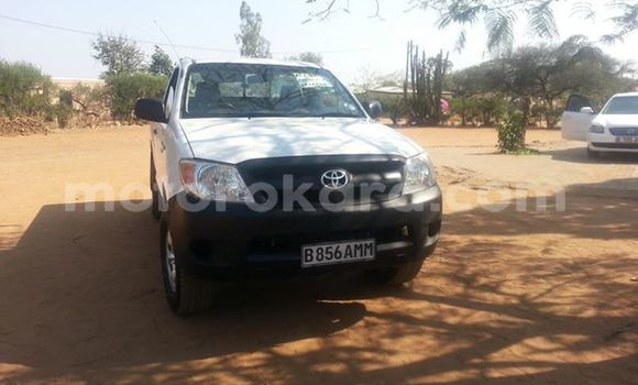 Buy Used Toyota Hilux White Car in Gaborone in Gaborone