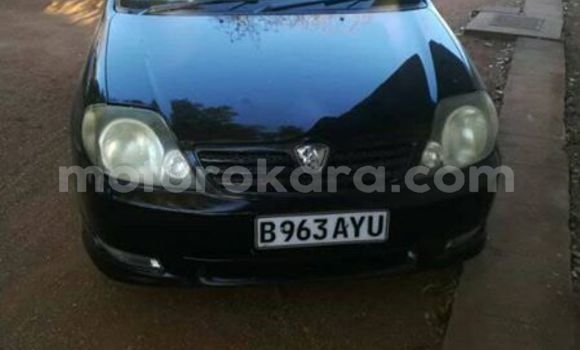 Buy Used Toyota Runx Black Car in Gaborone in Gaborone